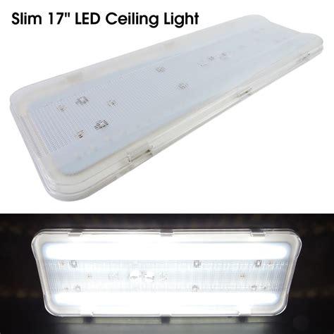 12 volt led lights for rv interior rv cargo race trailer interior led ceiling light fixture