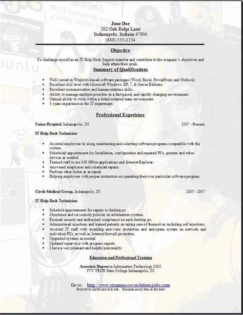 desk support resume occupationalexamplessamples  edit  word