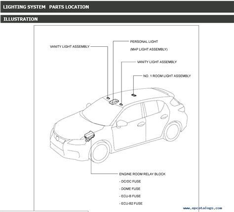 free download parts manuals 2012 lexus is instrument cluster lexus ct200h service manual 12 2010 11 2013 pdf download