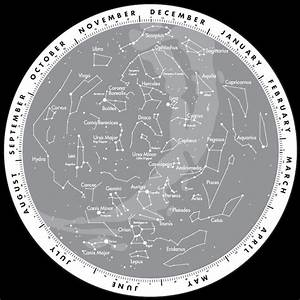 NASA Constellation Chart Northern Hemisphere - Pics about ...