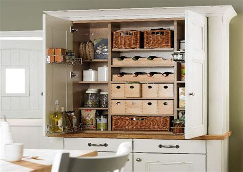 Pantry Ideas For Small Kitchens Good Pantry Corner