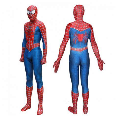 tobey maguire  version  raimi spiderman costumes