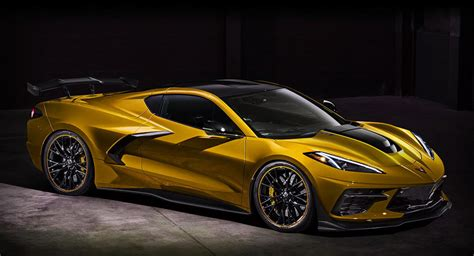 C8 Corvette News by New Corvette C8 Zr1 With Downforce Mods Could Look