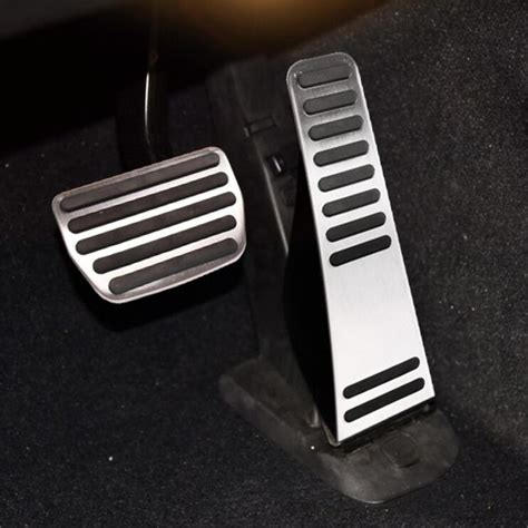 shipping car styling stainless steel gas pedal brake