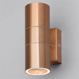 Up And Down Lights : kenn up down light outdoor wall light copper from litecraft ~ Whattoseeinmadrid.com Haus und Dekorationen