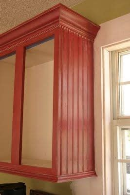 oak cabinet crown molding beechridgecs com how to builder grade oak cabinets look custom like