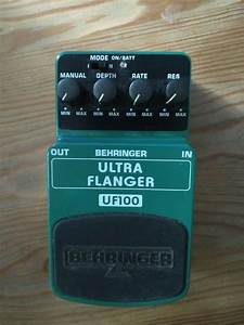 Behringer Uf100 Ultra Flanger Compact Guitar Effects Pedal