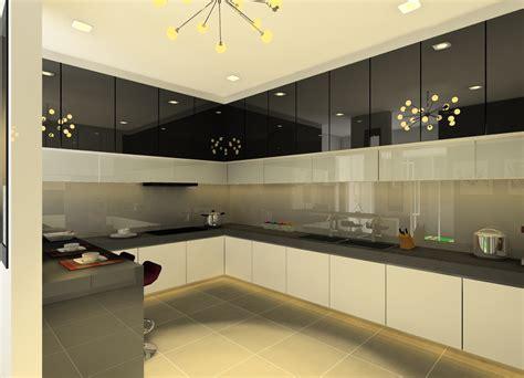 modern kitchen interior a red and silver kitchen decosee com