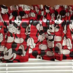 1000 ideas about mickey mouse curtains on pinterest red