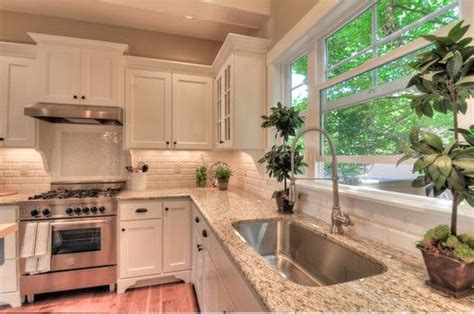 how to tile a backsplash in the kitchen kitchen white shaker style cabinets giallo ornamental 9837