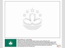 Ausmalbild Flagge von Macau Ausmalbilder kostenlos zum