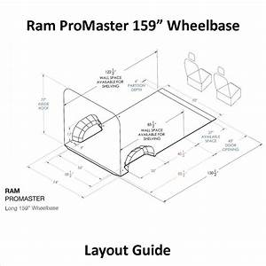 Ram Promaster Layout Guide 159 U0026quot  Wb
