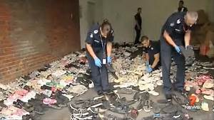 Melbourne detectives find house FILLED with 1000 pairs of ...