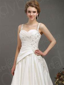 A line corset lace wedding dresses with spaghetti for A line corset wedding dress