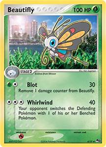 Beautifly | EX Ruby & Sapphire | TCG Card Database ...
