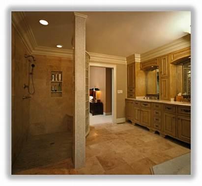 Bathroom Tile Installing Molding