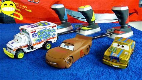 Demolition Derby Cars Toys by Cars 3 Crash Lightning Mcqueen Toys Disney Demolition