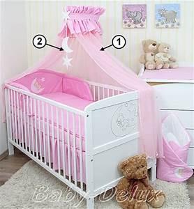 Baby Bettset Mädchen : baby bettw sche moskitonetz himmel 2in1 bettset mit ~ Watch28wear.com Haus und Dekorationen
