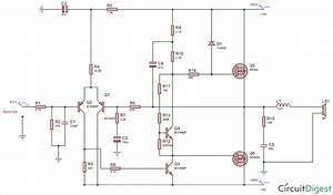 50 Watt Amplifier Electronic Circuit Diagram  62564
