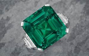 Harry Winston buys the Rockefeller emerald for $5.5 ...  Emerald