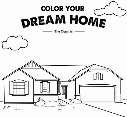 Coloring Pages Estate Sheets National Homes Printable