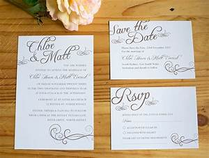 wedding collection invitation save the date rsvp With wedding invitations with rsvp and save the date