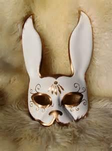 bioshock inspired splicer rabbit leather mask