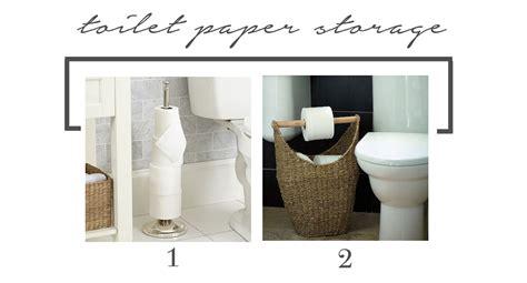 reader dilemma storage   small bathroom