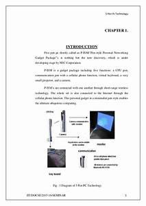 5 Pen Pc Technology Seminar Report