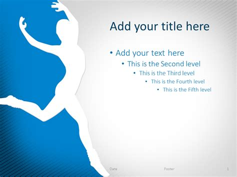 ballet   powerpoint template library