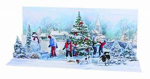 Pop Up Karte Weihnachten : pop up 3d weihnachten panorama karte popshot wintersee dorf 23x10 cm 508554 ~ Buech-reservation.com Haus und Dekorationen