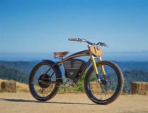 Vintage Electric Scrambler Electric Bike  U00bb Gadget Flow