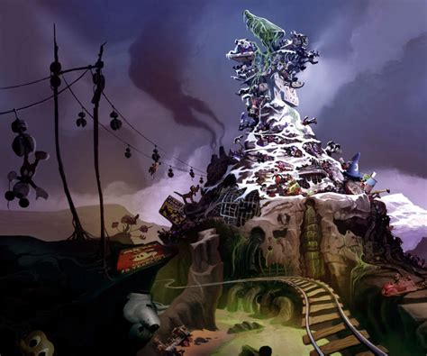 Mickeyjunk Mountain Epic Mickey Wiki Fandom Powered By