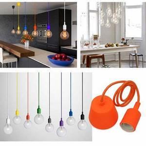 Lampe Suspension Ikea : princeway couleur silicone luminaire suspension style europ en moderne ikea lampe pendante ~ Teatrodelosmanantiales.com Idées de Décoration