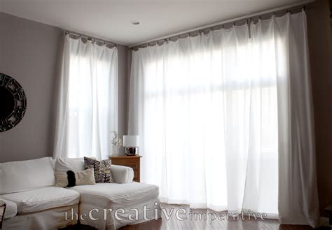 windows inspiration corner curtain rod the creative imperative curtains for cheap
