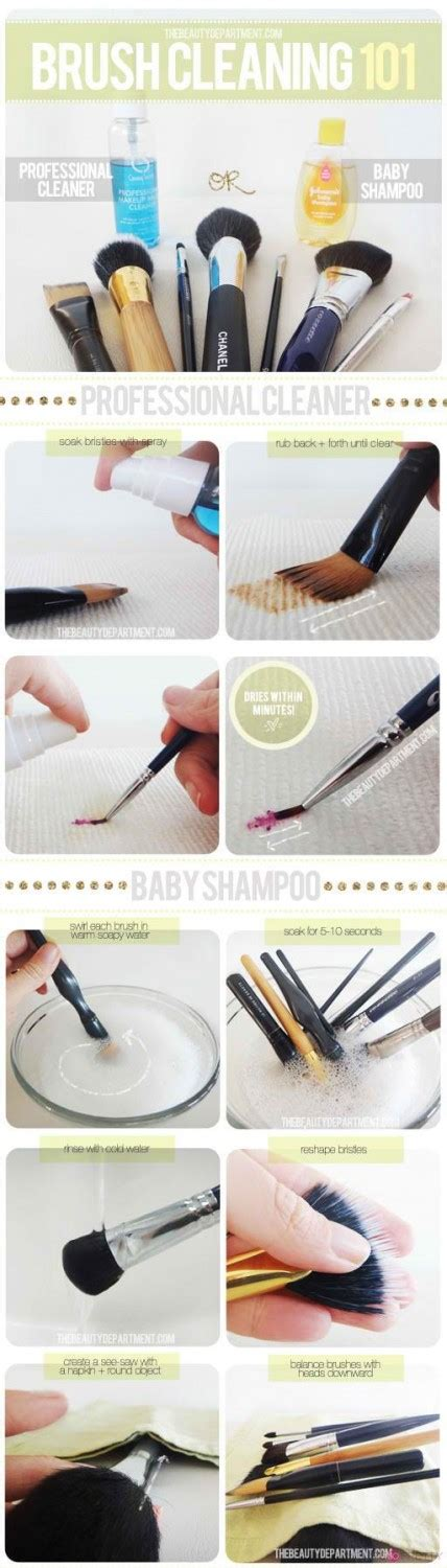 15 Tips On How To Wash Your Makeup Brushes
