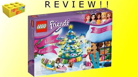 Lego Friends 2012 Advent Calendar 3316 Review  Youtube