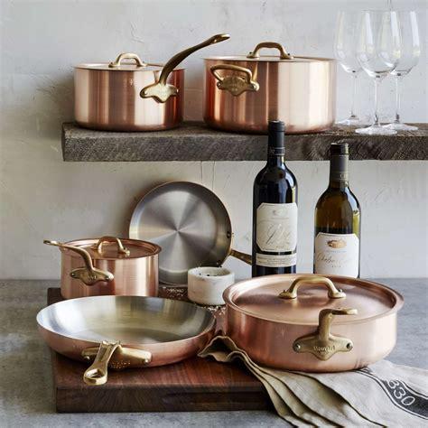copper cookware uk baumalu assorted copper cookware pots  pans alsace copper