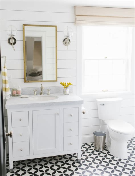 White Shiplap Bathroom by Shiplap Bathroom Inspiration Robinson