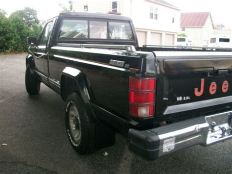 jeep comanche pickup truck find used 1986 jeep comanche x new 3 4 v6 standard cab