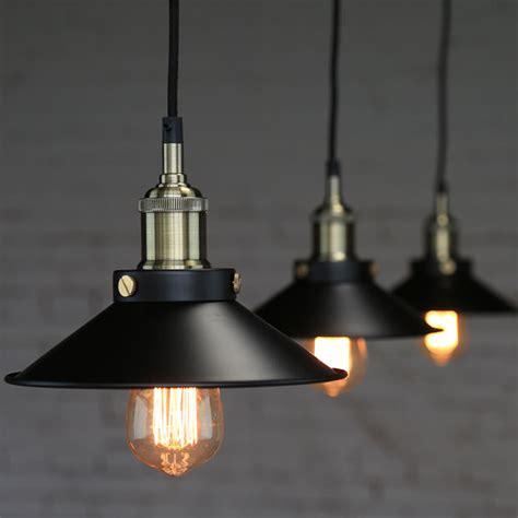 industrial looking light fixtures industrial vintage pendant loft lshade ceiling light