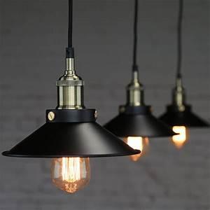 Industrial Vintage Pendant Loft Lampshade Ceiling Light