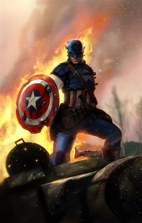 captain america steven rogers page    zerochan