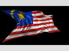 Flag Of Malaysia Beautiful 3d Animation Of The Malaysia