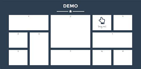 jquery drag drop grid layout plugins web graphic