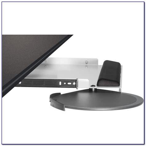 Under Desk Keyboard Tray No Screws Desk Home Design