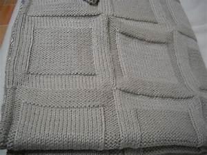 Tricoter Un Plaid En Grosse Laine : comment tricoter un plaid ~ Melissatoandfro.com Idées de Décoration
