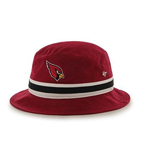 arizona cardinals striped bucket hat football theme hats