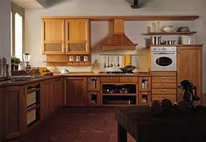 Muebles, De, Cocinas, En, Maderas, R, U00fasticos