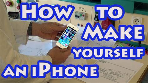 how to make a iphone diy how to make yourself an iphone 10 x or 8 at home